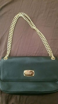Michael Kors evening bag with gold chain straps Surrey, V4N 1B1