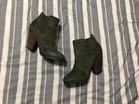 Call It Spring Ankle Boots - Military Green New York, 11436