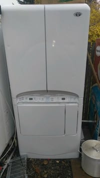 Gas dryer and steamer