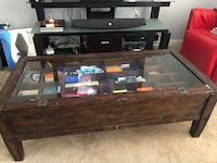 West elm coffee table w/compartments 54 km