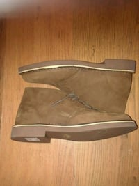 Pair of Clark brown suede boots Size 9 Watauga, 76148
