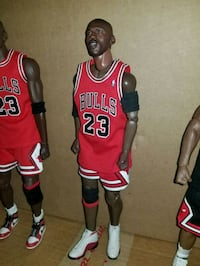 "Michael Jordan 12""inch figure (FIRM PRICE). Toronto, M1L 2T3"
