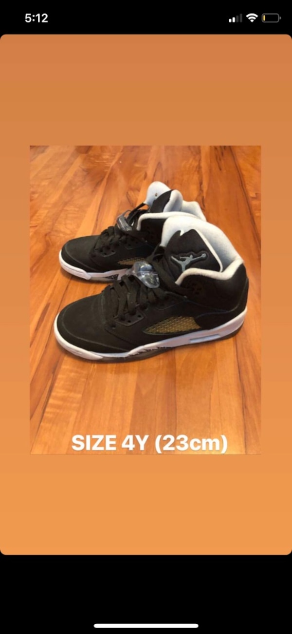 fcb58b766a0 Used black-and-white Air Jordan basketball shoes for sale in Toronto ...