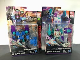 Transformers Power of the Primes Dreadwind / Blackwing