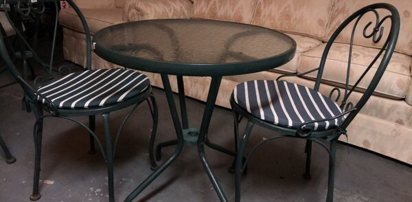 Used Patio Table And Two Chairs For In Pleasant Hill