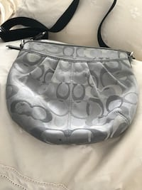 gray and black Coach monogram hobo bag Burnaby, V5C