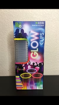 Glow Cups by Glo Pro 20 cups per package  Chandler, 85286