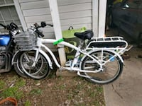 white and black motorized bicycle Chapel Hill, 27514