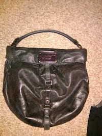 MARC JACOBS black leather bag Calgary