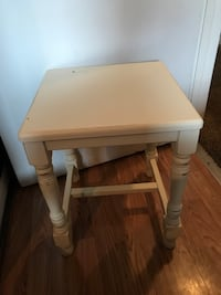 Nice little table or end table whatever you want to call it its wood