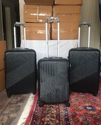 New 3 pcs Black Luggage Set Toronto