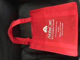 FREE!  FREE!  AlohaCare Red Shopping Bag