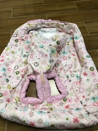 Bright Starts Baby Pretty Cozy Cart Cover in Pink Color-In Good Shape!! Marietta