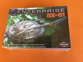 Star Trek Enterprise NX-01 Model Kit 1/1000 Scale