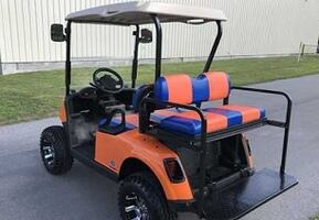 Stylish looking Electric Golf Cart Mostly clean