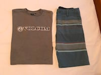 Volcom Boys Short Set Size 14 Victorville, 92395