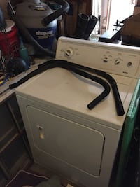 white front-load clothes dryer White House, 37188