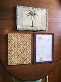 Placemats – palm tree themed