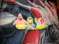 Nickelodeon Patrick star, plankton and Gary plushes  Summerville