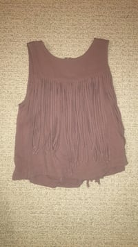 women's brown sleeveless top North Saanich, V8L 5T2