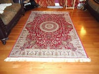 Brand new traditional silk Area Rug size 8x12 Burke, 22015