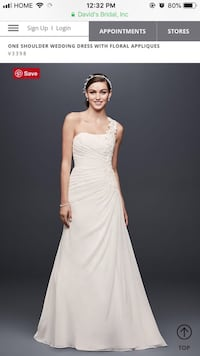 Women's white wedding dress Toronto, M1P 2E3