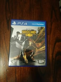 Ps4 infomous second son game Palm Bay, 32907