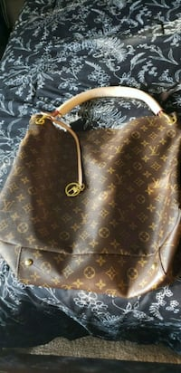 brown leather Louis Vuitton tote bag Bakersfield, 93309