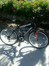 black and red hardtail mountain bike Edinburg
