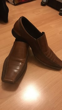 Pair of brown leather dress shoes Edmonton, T5A 4X2
