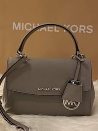 MK Ava Extra-Small Saffiano Leather Crossbody