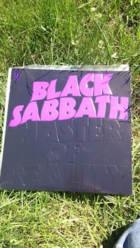 Black Sabbath Master Of Reality Viynl Kelowna, V1Y 6R3