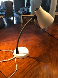 Verilux Tazza Natural Spectrum Desk Lamp, Adjustable EasyFlex Gooseneck, In-base USB Charging Port, 2 Prong Outlet Ellicott City, 21042