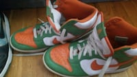 pair of red-and-green Nike sneakers Rockville, 20853