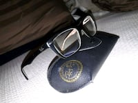 black framed Ray-Ban sunglasses with case Kamloops, V2C 2R2