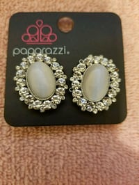 pair of silver-colored earrings Jonesboro, 30238