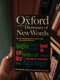 The Oxford Dictionary of New Words book Glassport, 15045