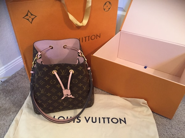 9baf117b0af499 Used Authentic Louis Vuitton NeoNoe Bucket Bag for sale in Houston ...