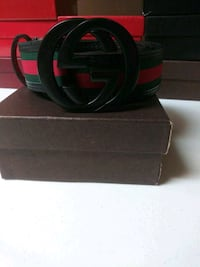 black and red Gucci belt Boston, 02101