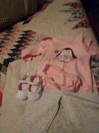 Size3 to 6 months4 pieces Columbus
