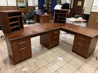 L Shape office desk Custom made Paterson, 07504