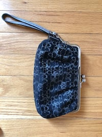 black and gray Coach monogram crossbody bag Centreville, 20121