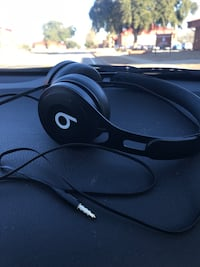 black and white Beats by Dr. Dre corded headphones Augusta, 30906
