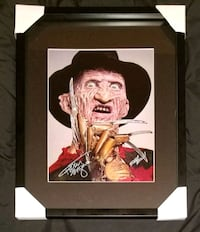 Freddy Krueger Signed Photo Framed w/COA  Caledon, L7E 2X9