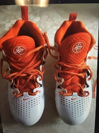 Lacrosse Cleats White/orange Nike Air Huarache Germantown, 20876