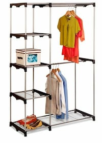 gray metal clothes rack District Heights, 20747