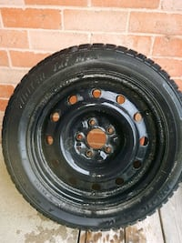 Winter tires on rim 205 55 16 Pickering, L1V 6T9