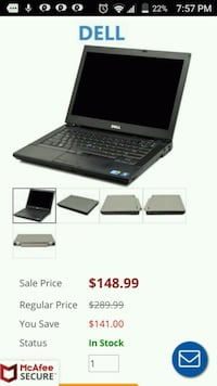 Dell laptop  Buffalo, 14225