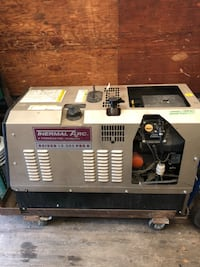 Generator and a welder 3phase