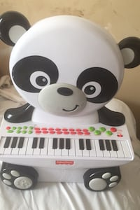 Fisher Price Piano Panda still works sounds perfect abc sounds etc